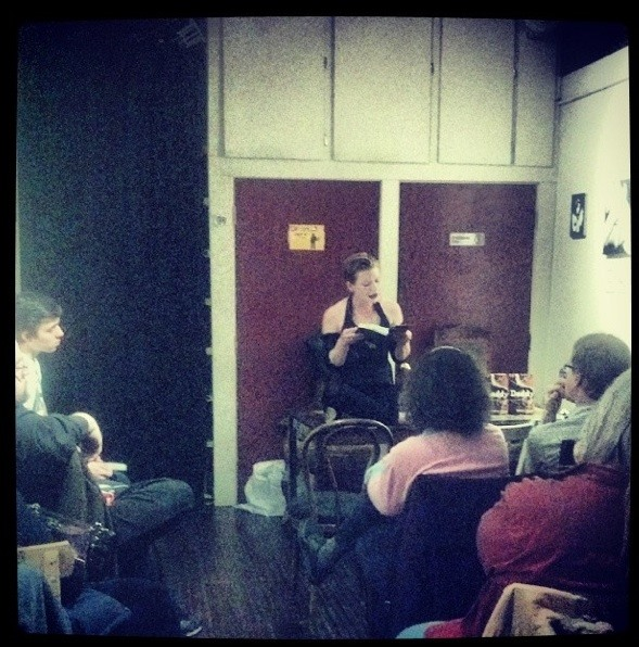 Reading At Wicked Grounds