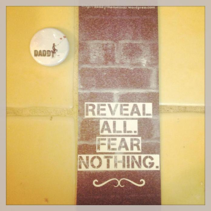 Reveal all, fear nothing bookmarks!
